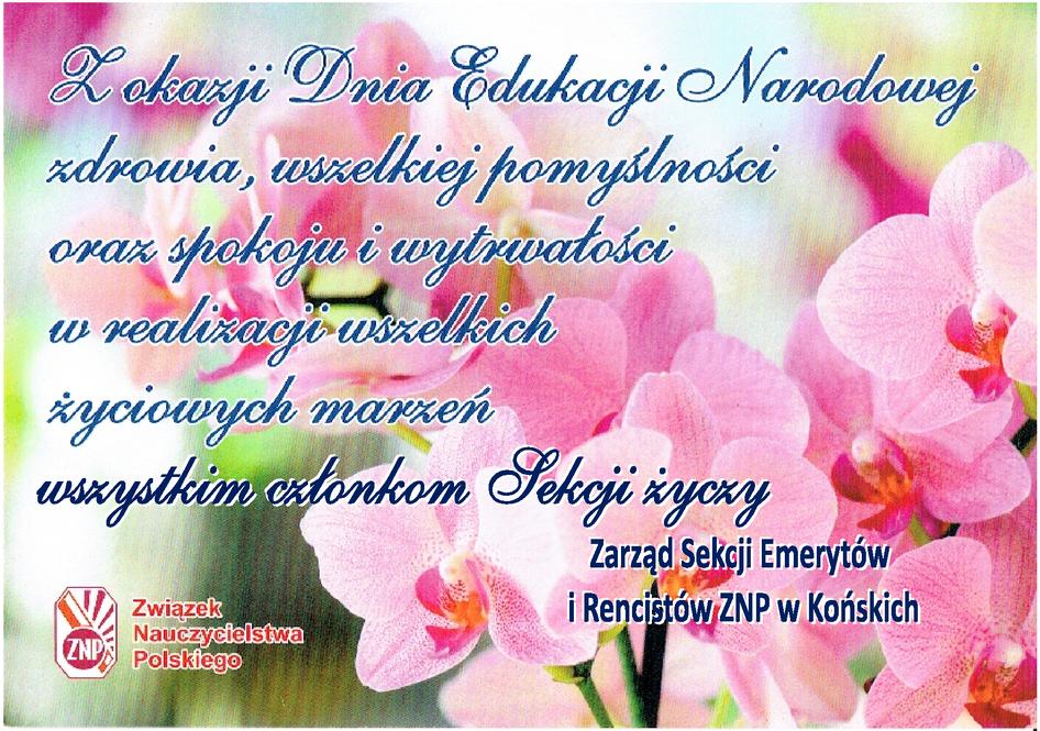 Związek Nauczycielstwa Polskiego Oddział W Końskich